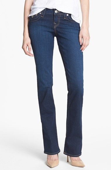 True Religion Brand Jeans 'Becky' Bootcut Jeans (Lonestar) available at #Nordstrom