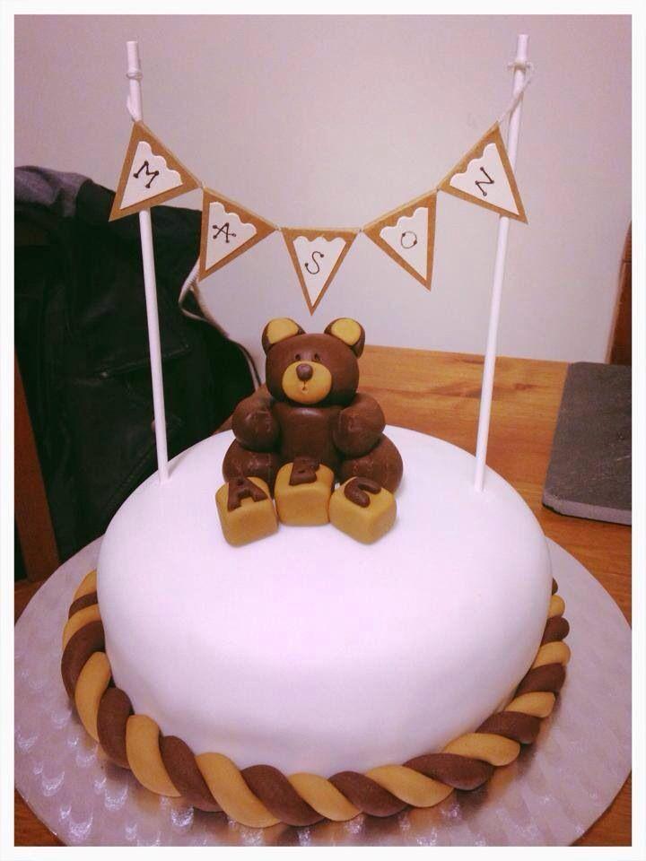 Unisex baby shower cake! Cake ideas Pinterest