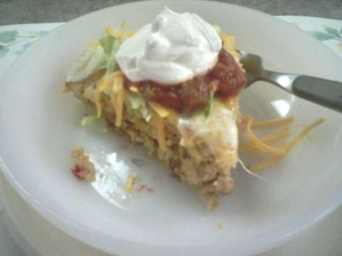 Impossibly Easy Chicken Taco Pie | Recipe Binder