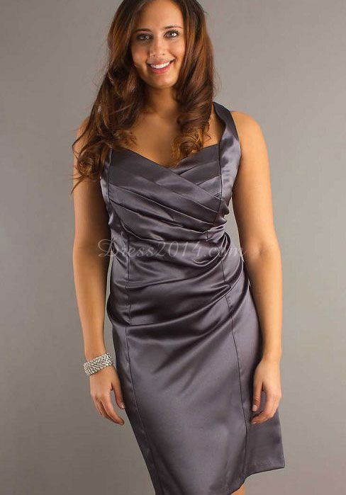 plus size clothes grey