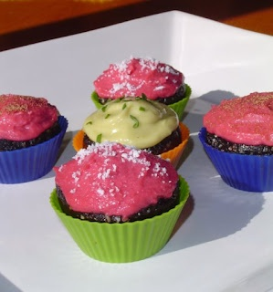 Raw food - cupcakes | Yummies | Pinterest