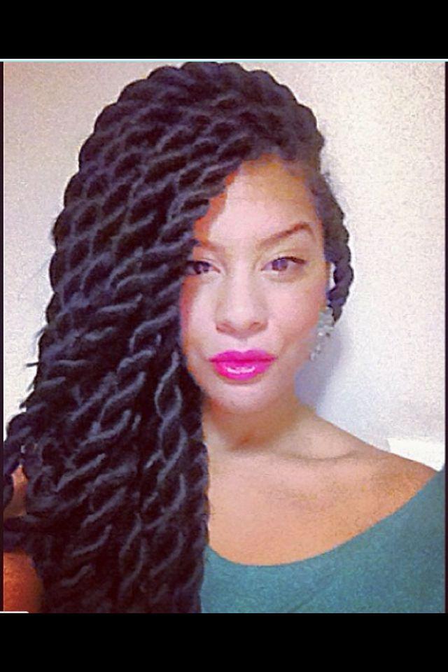 Marley twists | princess hair styles | Pinterest