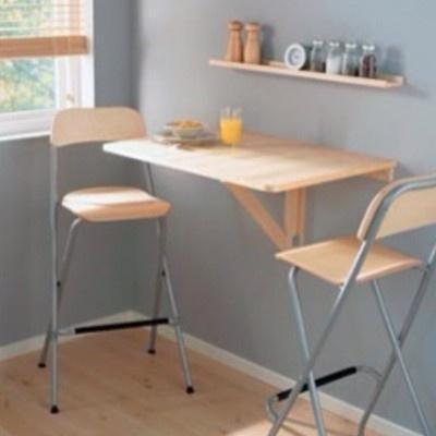 Ikea wall drop leaf table birch breakfast nook bar folding laptop desk furntiure - Wall mounted kitchen table ikea ...