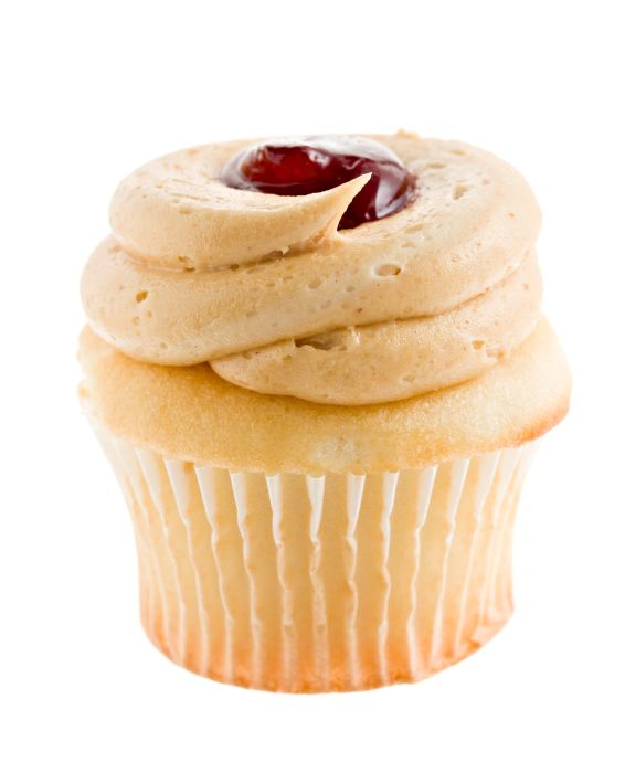 Peanut Butter and Jelly Cupcakes | Sweet Treats | Pinterest