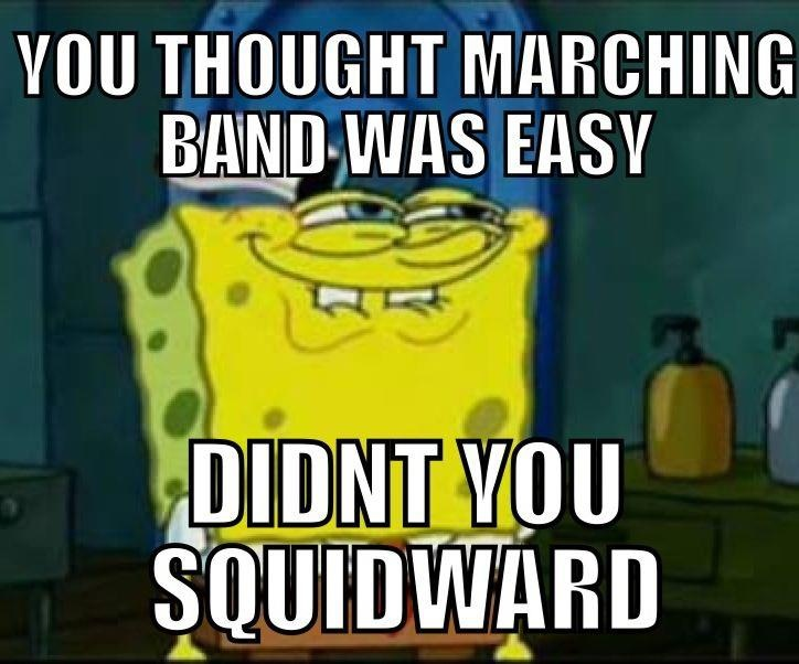 spongebob band quotes | It's A Band Thing | Pinterest