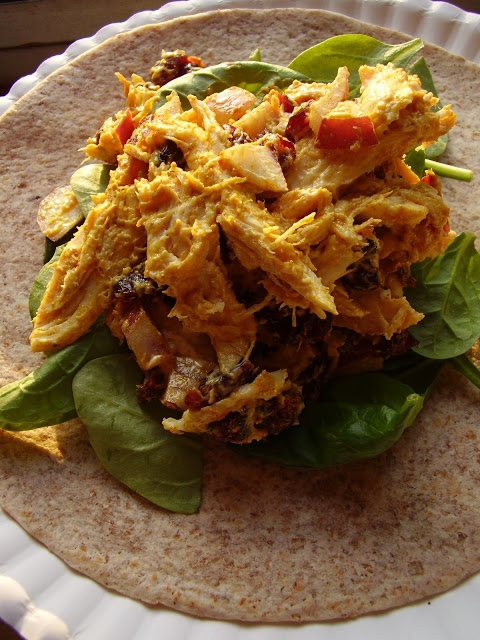 Curried Chicken Salad Wraps | Food & Drinks | Pinterest