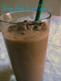 Treats With a Twist: Skinny Black Forest Shake; (Primal - use coconut ...