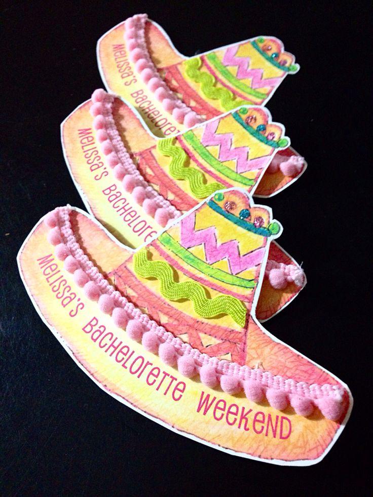 Bachelorette Weekend Invitations is amazing invitation design