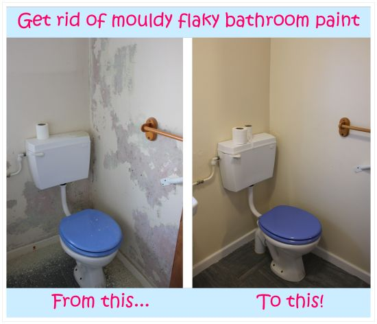 say goodbye to mouldy paint by stripping the flaky paint off the walls. Black Bedroom Furniture Sets. Home Design Ideas