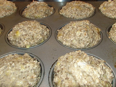 Muffins (Vegan, Gluten-Free, Low-Fat and Sugar Free Banana Muffins