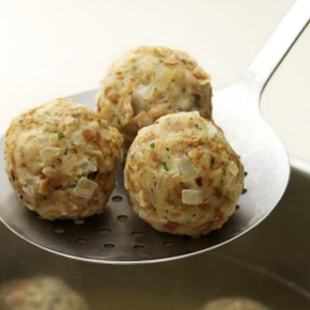 German Bread Dumplings | Food & Recipes | Pinterest