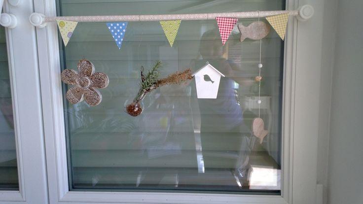 Fensterdeko sommer 2013 basteln pinterest - Fensterdeko sommer ...