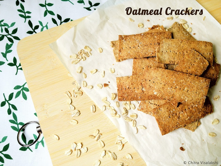 Oatmeal Crackers. I'll clean these up | Clean Eating Snacks | Pinter ...