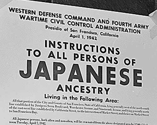 japanese internment thesis