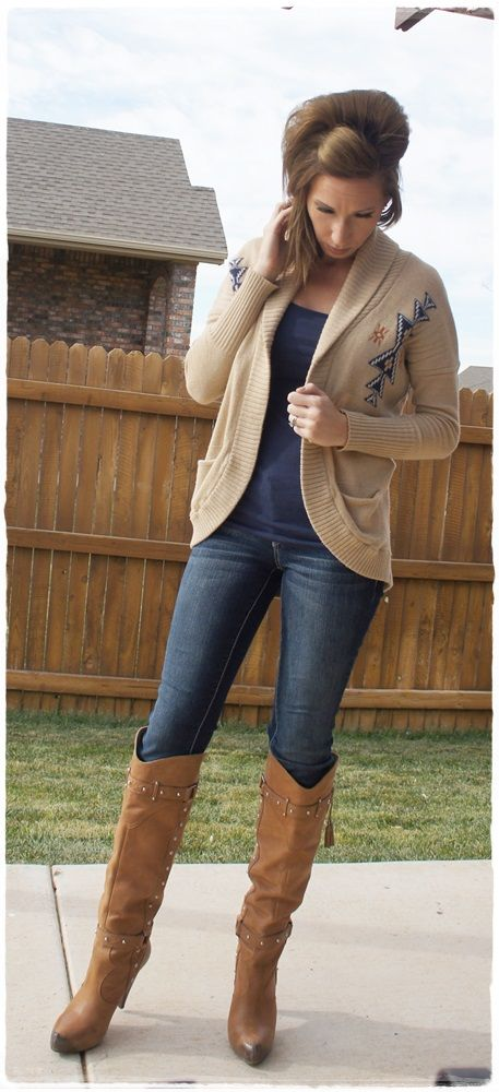 Western style tall boots fashion blog country gal style pinterest
