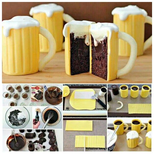 Cool Beer Cake Ideas 104789 Cool Cake Idea Beer Mug Cake B