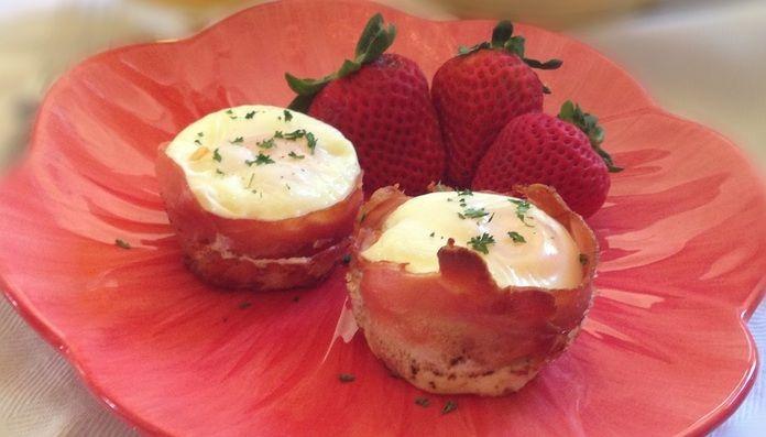 Prosciutto Egg Cups | Paleo Recipes | Paleo Cupboard - Paleo Cupboard