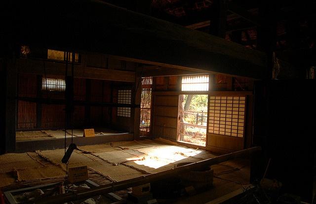 Akiyama house interior Traditional Japanese Houses