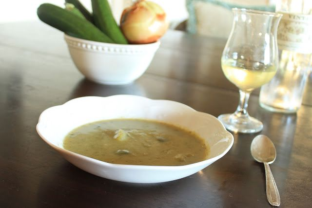 SIMPLE Zucchini Soup Recipe! | Coconut Almond Recipes | Pinterest