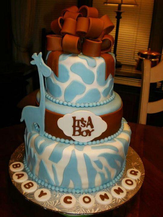 giraffe baby shower cake cake love pinterest