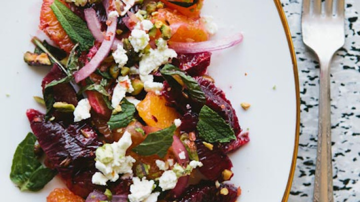 Sicilian–Inspired Blood Orange Salad | Food And Wine | Pinterest