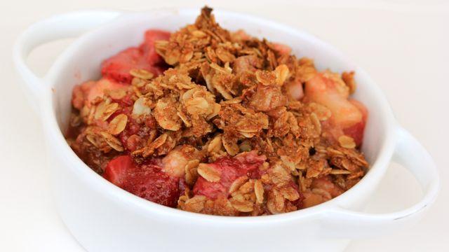 Strawberry Rhubarb Crisp | Yummy | Pinterest