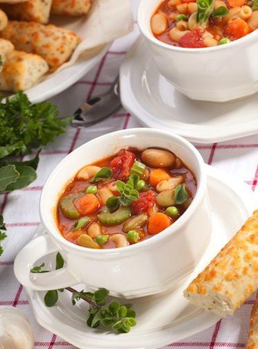 ... Pasta and Bean Soup - http://veganbandit.com/italian-pasta-and-bean