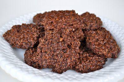 No Bake Chocolate Oatmeal Drop Cookies | recipes | Pinterest