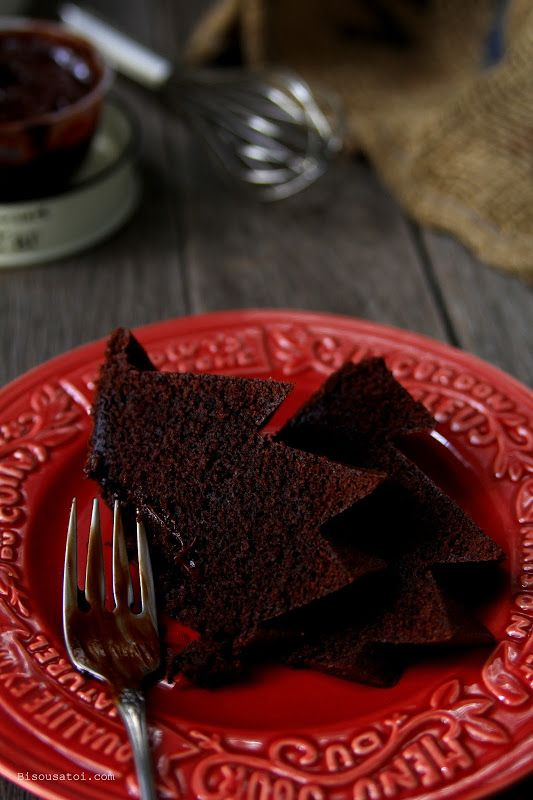 Bisous À Toi: Deep Chocolate Sour Cream Pound Cake
