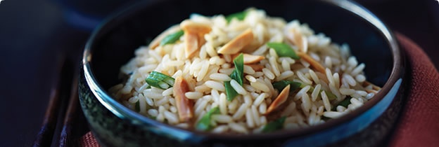 Almond Rice Pilaf | Light Meals | Pinterest