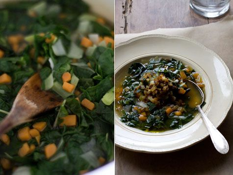 Green Soup with Ginger | Recipe