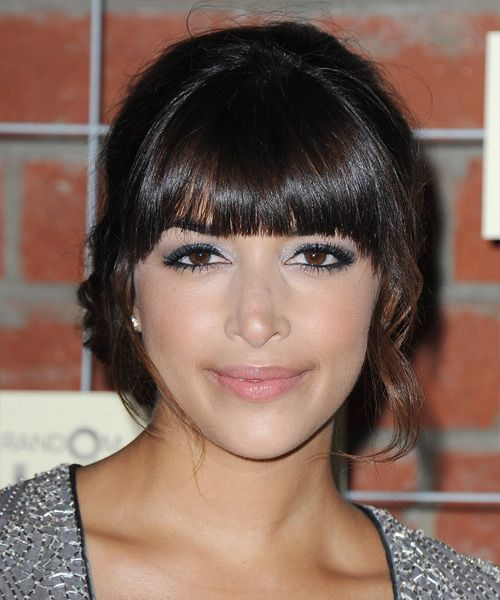 Hannah Simone - Hairstyle | SPECIAL OCCASIONS | Pinterest