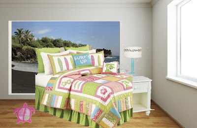 my attempt at girls surfer style bedroom design ideas pinterest