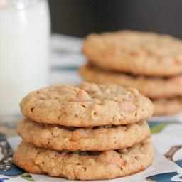 Oatmeal Butterscotch Caramel Cookies   healthy and/or weight loss bak ...