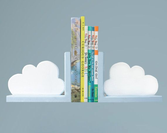 Cloud Book Ends Set of Two by ShopLittles on Etsy, $32.50