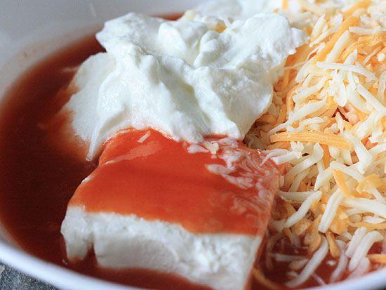 Hot and Spicy Buffalo Shrimp Dip | Skinnytaste