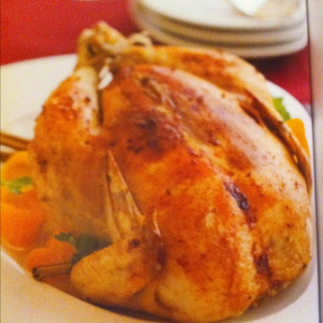 Ginger, Coriander And Orange Braised Chicken Recipe — Dishmaps