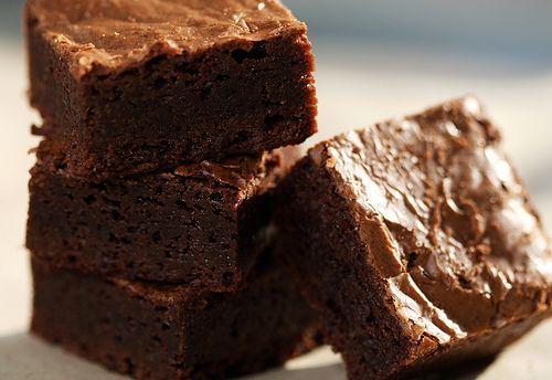 Chocolate & frangelico brownies | Yummy Stuff to Make | Pinterest