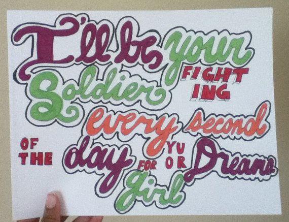 tumblr lyrics drawings justin bieber