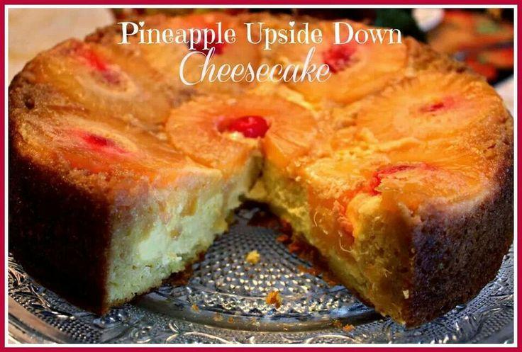 Pineapple Upside Down Cheesecake | Bake | Pinterest