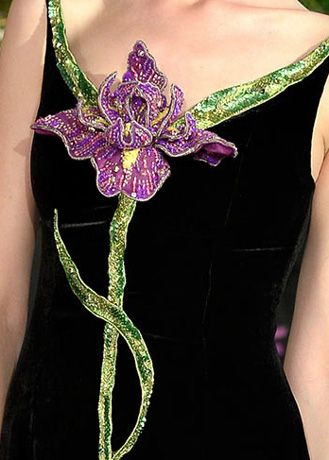 Alexis Mabille Fall 2013 Couture Detail