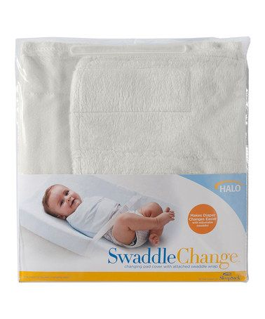 Look what I found on #zulily! Cream SwaddleChange Changing Pad Cover #zulilyfinds