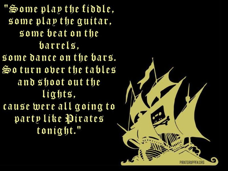 Rave party quotes pirate quotes