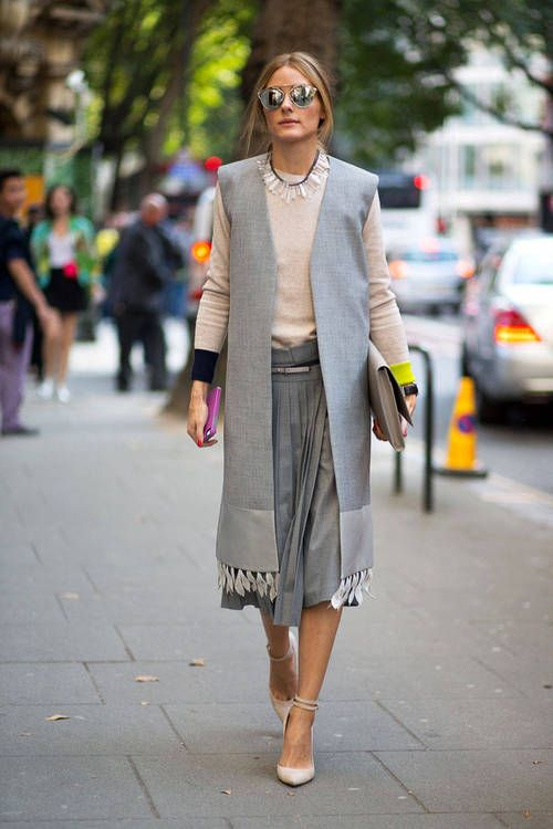Olivia Palermo / London Fashion Week Spring Summer 2015