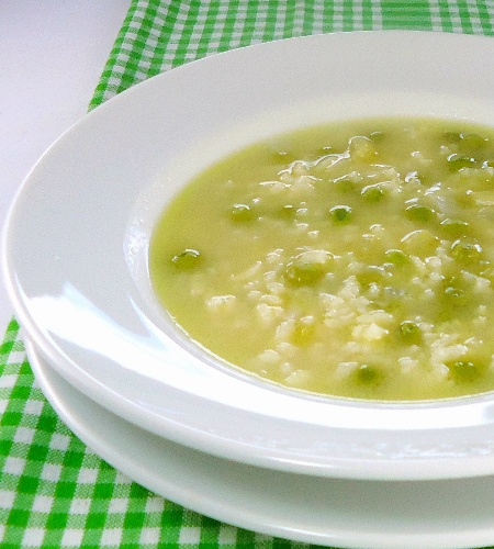 Risi e Bisi (rice and pea soup) | Blog Food Inspiration | Pinterest