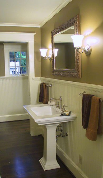 Powder Room Sink? bathrooms Pinterest