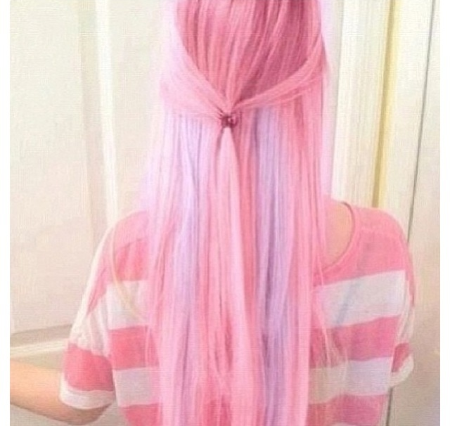 light pink and purple hair hair pinterest