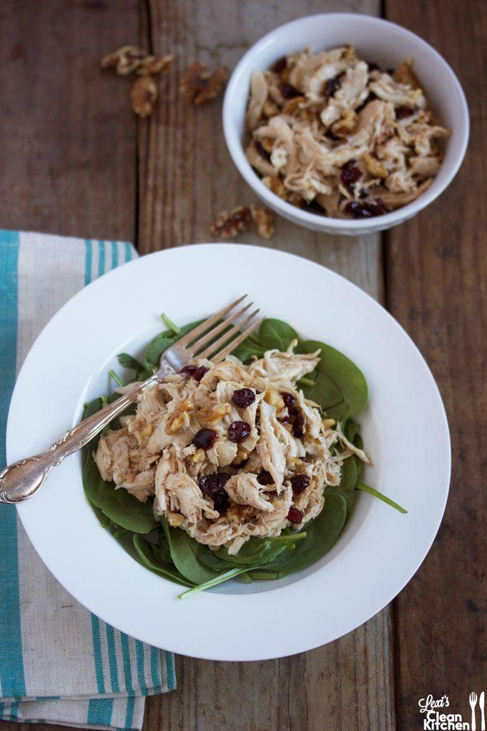 Cranberry Walnut Chicken Salad | Paleo | Pinterest