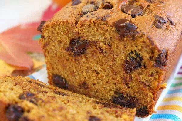 Chocolate chip pumpkin bread | Recipes-Bread | Pinterest