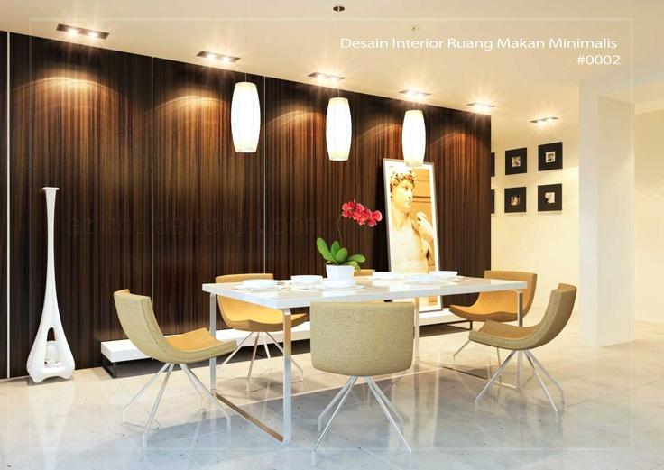 desain interior ruang makan minimalis interiors pinterest